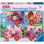 Ravensburger-03052 4 Jigsaw Puzzles - Cry Baby