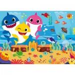 Ravensburger-03067 Giant Floor Puzzle - Baby Shark