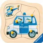 Ravensburger-03234 Wooden Jigsaw Puzzle - German Police