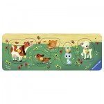 Ravensburger-03235 Wooden Jigsaw Puzzle - Farm Animals