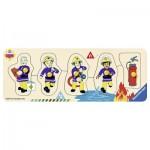Ravensburger-03237 Wooden Jigsaw Puzzle - Fireman Sam