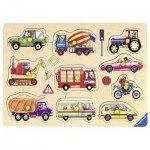 Ravensburger-03670 Wooden Jigsaw Puzzle - On the Road