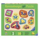 Ravensburger-03679 Wooden Jigsaw Puzzle - My Best Toys