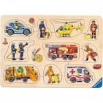 Ravensburger-03681 Wooden Jigsaw Puzzle - In Use