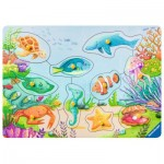 Ravensburger-03682 Wooden Jigsaw Puzzle - Sweet Marine Life
