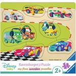 Ravensburger-03686 Wooden Jigsaw Puzzle - Cars