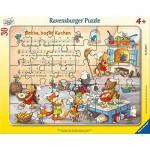 Ravensburger-05025 Frame Puzzle - Backe, Backe Kuchen