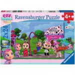 Ravensburger-05103 2 Jigsaw Puzzles - Cry Babies