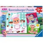 Ravensburger-05104 3 Jigsaw Puzzles - Cry Babies