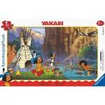 Ravensburger-05141 Frame Puzzle - Yakari