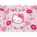 Ravensburger-05262 Jigsaw Puzzle - 24 Pieces - Maxi - Hello Kitty and Flowers