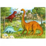 Ravensburger-05266 Jigsaw Puzzle - 24 Pieces - Maxi - Dinosaur Friends