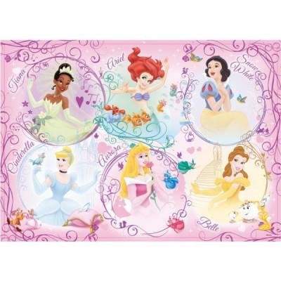 Ravensburger-05296 Jigsaw Puzzle - Large - 60 Pieces - Disney Princess Portrait