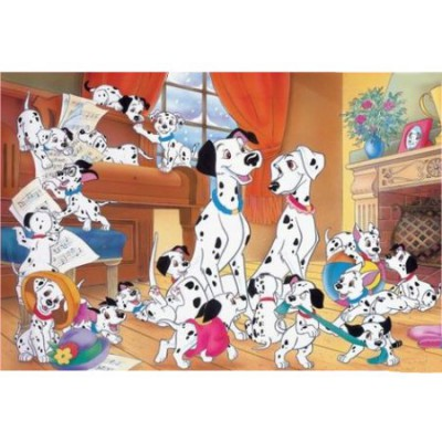 Ravensburger-05351 Jigsaw Puzzle - 24 Pieces - One Hundred and One Dalmatians