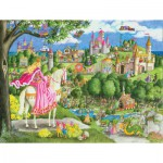 Puzzle  Ravensburger-05368 XXL Pieces - Once Upon a Time