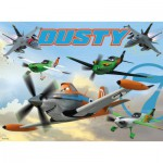 Ravensburger-05390 Giant ground Puzzle -Planes
