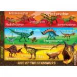 Ravensburger-05393 Floor Puzzle - Deadliest Dinosaurs
