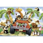Ravensburger-05401 Floor Puzzle - Safari