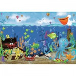 Ravensburger-05430 Floor Puzzle - Underwater Treasure