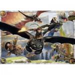 Ravensburger-05435 Floor Puzzle - Dragons