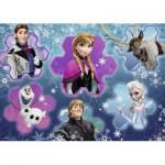 Ravensburger-05437 Floor Puzzle - Frozen