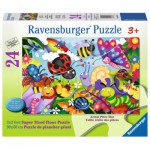 Ravensburger-05447 Floor Puzzle - Cute Bugs