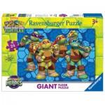 Ravensburger-05470 Floor Puzzle - Ninja Turtles