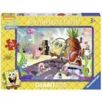 Ravensburger-05473 Floor Puzzle - Sponge Bob