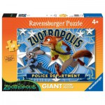 Ravensburger-05474 Floor Puzzle - Judy & Nick