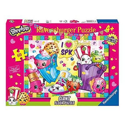 Ravensburger-05475 Floor Puzzle - Shopkins