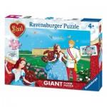 Ravensburger-05488 Floor Puzzle - Sissi