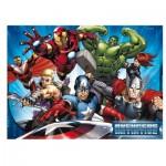 Ravensburger-05489 Floor Puzzle - Avengers
