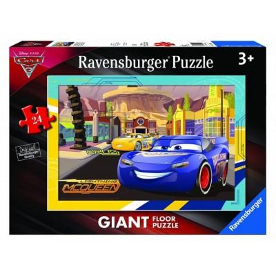 Ravensburger-05519 Floor Puzzle - Cars 3