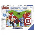 Ravensburger-05522 Floor Puzzle - Marvel