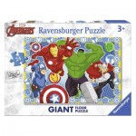 Ravensburger-05523 Floor Puzzle - Marvel
