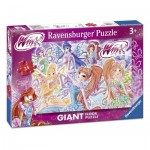 Ravensburger-05526 Floor Puzzle - Winx