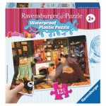 Ravensburger-05607 Waterproof Plastic Puzzle - Masha and the Bear
