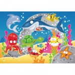 Ravensburger-05610 My First Outdoor Puzzles - Adventure under Water