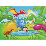 Ravensburger-05611 My First Outdoor Puzzles - Dinosaurs