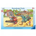 Ravensburger-06015 Jigsaw Puzzle - 15 Pieces - Farm Work