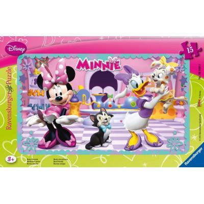 Ravensburger-06049 Frame Jigsaw Puzzle - Minnie