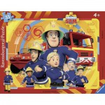 Puzzle  Ravensburger-06114 Fireman Sam