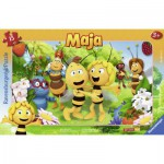 Puzzle  Ravensburger-06121 Frame - Maya the Bee