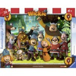 Ravensburger-06122 Frame Jigsaw Puzzle - Wickie