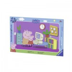 Ravensburger-06123 Frame Jigsaw Puzzle - Peppa Pig