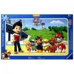 Ravensburger-06124 Frame Jigsaw Puzzle - Paw Patrol