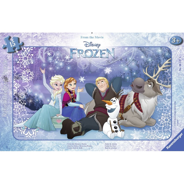 Frame Jigsaw Puzzle - Frozen