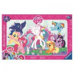 Ravensburger-06129 Frame Jigsaw Puzzle - My Little Poney