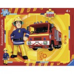 Ravensburger-06132 Frame Jigsaw Puzzle - Sam the Fireman