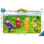 Ravensburger-06133 Frame Jigsaw Puzzle - Teletubbies